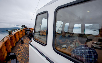 Dining on the Western Fjords Norway Bike & Boat Tour