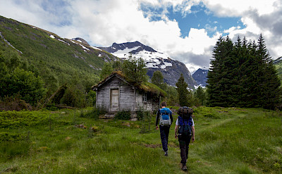Hiking near Slogen, part of the Sumøre Alps in Norway. Flickr:TimOve