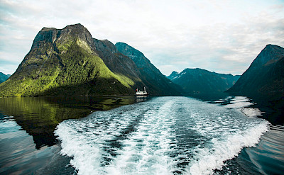 Leaving a trail on the Western Fjords Norway Bike & Boat Tour