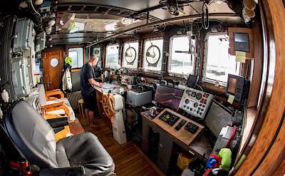 Cockpit | Gåssten | Bike & Boat Norway Fjords Tour
