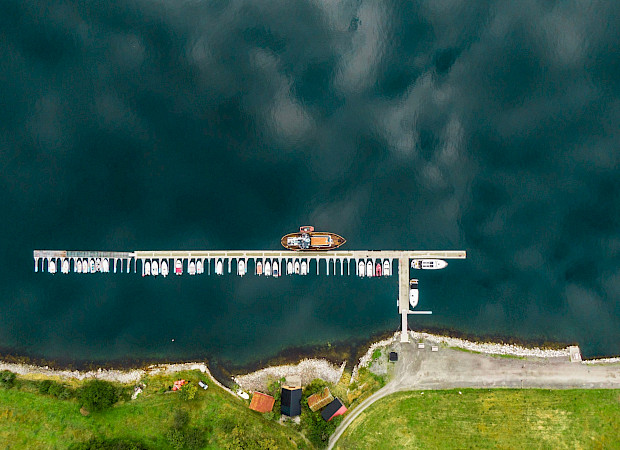 Docked | Gåssten | Bike & Boat Norway Fjords Tour
