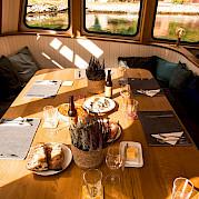 Dining area | Gåssten | Bike & Boat Norway Fjords Tour