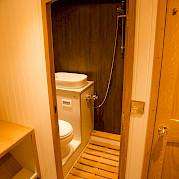 Bathroom | Gåssten | Bike & Boat Norway Fjords Tour