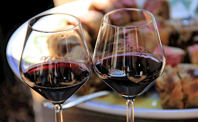 Delicious Montefalco wine is famous here in Umbria, Italy. Flickr:Michela Simoncini