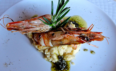 Prawns and other fancy Italian cuisine in Umbria! Flickr:Umbria Lovers