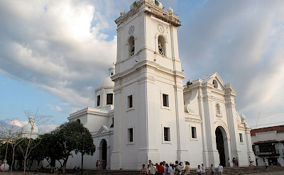 Cathedral of Santa Marta in Colombia. CC:Lombana