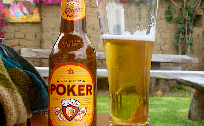 Local Colombian Cerveza Poker beer perhaps after a great day of bird-watching! Flickr:Erik Cleves Kristensen