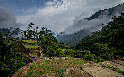 Ciudad Perdida (Lost City) of Colombia. CC:Dwayne Reilander