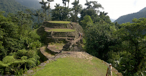Ciudad Perdida, the Lost City, in Colombia. Flickr:David~ 11.048874608925248, -73.91654678565479