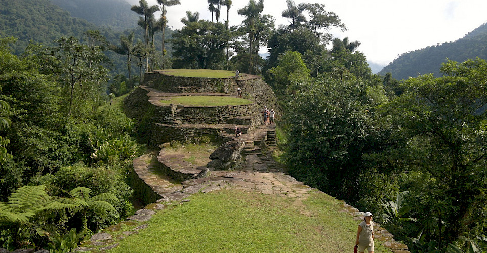 Ciudad Perdida, the Lost City, in Colombia. Flickr:David~