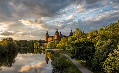 Schloss Johannisburg in Aschaffenburg, Bavaria, Germany. Flickr:Carsten Frenzl