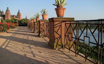 Along the Main River by Schloss Johannisburg in Aschaffenburg, Bavaria, Germany. Flickr:Infinite Ache