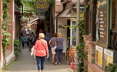Shopping in Rüdesheim, Germany. Flickr:Duane Huff