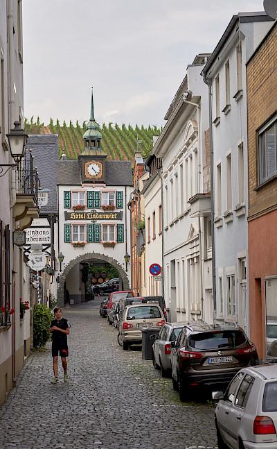 Biking through Rüdesheim, Germany. Flickr:Duane Huff