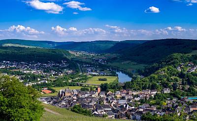 Saar River Valley in Saarburg, Germany. Flickr:Gilbert Sopakuwa