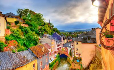 Along the Saar River in Saarburg, Germany. Flickr:Wolfgang Staudt