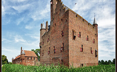 Many castles in the province Gelderland, the Netherlands. Flickr:Bert Kaufmann