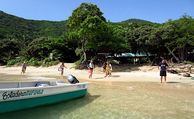 Boat ride from Cabo San Juan, Colombia. Flickr:Eli Duke