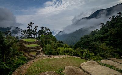 Ciudad Perdida (Lost City) of Colombia. CC:Dwayne Reilander