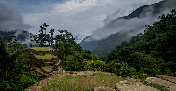 Ciudad Perdida (Lost City) of Colombia. CC:Dwayne Reilander 11.048874608925248, -73.91654678565479