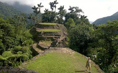 Ciudad Perdida, the Lost City, in Colombia. Flickr:David~