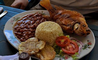 Traditional Colombian food! Flickr:katiebordner