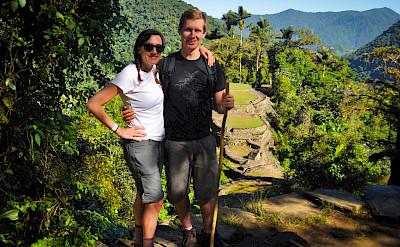 Hiking to La Ciudad Perdida (the Lost City) in Colombia. Flickr:katiebordner