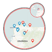 Santa Marta and Colombia's Lost City II Map