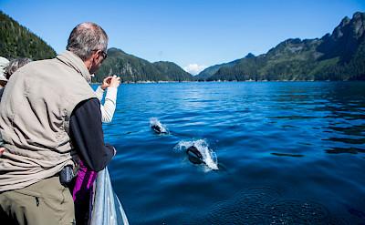 Capturing the moment in Kenai, Alaska.