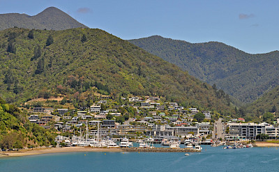 Picton in Marlborough, New Zealand. Flickr:Harshil Shah