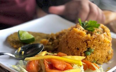 Traditional Colombian food. Flickr:Edgar Zunigar Jr.
