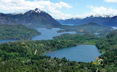 Nahuel Huapi National Park surrounding Bariloche, Argentina. CC:Yoavlevy10