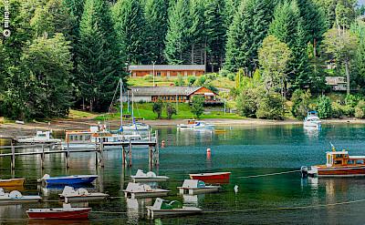 Lake in Bariloche, Argentina. Flickr:Nestor Galina