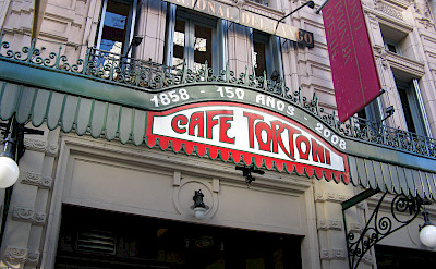 The famous Café Tortoni in Buenos Aires, Argentina. Flickr:Diego Torres Silvestre