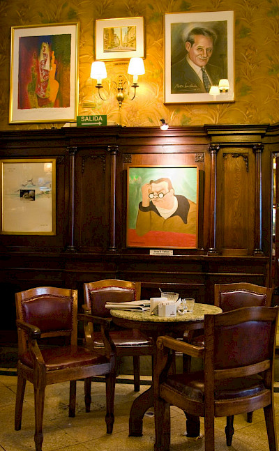 Café Tortoni in Buenos Aires, Argentina. Flickr:Jorge Sousa Pinto