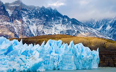 Glacier in Patagonia. Flickr:Wallboat