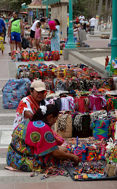 Shopping in Riohacha, Colombia. Flickr:Merwin Infante
