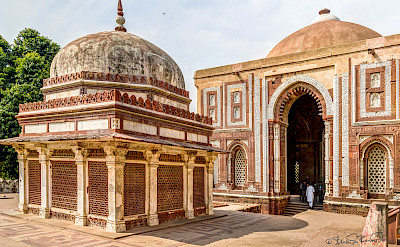 Qutub Minar Mosque in New Delhi, India. Flickr:Steven dosRemedios
