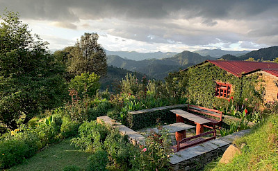 View, Itmenaan Estate, Kumaon region, India
