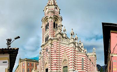 Iglesia de Nuestra Senora del Carmen in Bogotá, Colombia. Flickr:Pedro Szekely