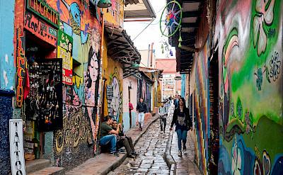La Candelaria in Bogotá, Colombia. Flickr:Pedro Szekely