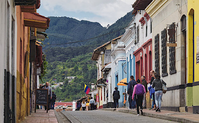 Sightseeing in Bogotá, Colombia. Flickr:Pedro Szekely