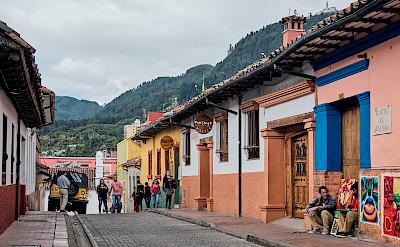 Walking through Bogotá, Colombia. Flickr:Pedro Szekely
