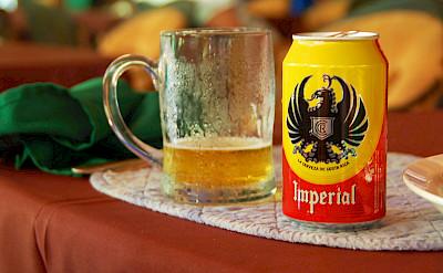 Local Imperial Costa Rican beer! Flickr:Britt Reints