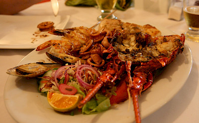 Mixed seafood in Costa Rica. Flickr:Marco Zanferrari