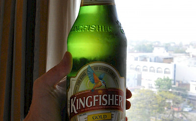 Kingfisher beer in India. Flickr:Sarah Sampsel