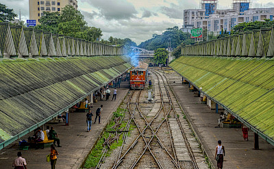 Central Train Station in New Delhi, India. Flickr:photobom