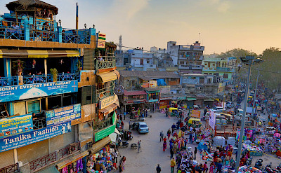 Paharganj District in New Delhi, India. Flickr:Andrzej Wrotek