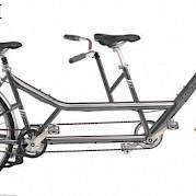 Y-tandem bike