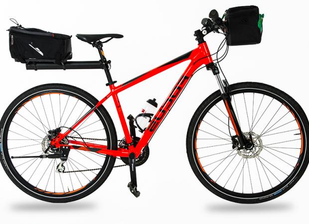 Fully-equipped hybrid bike